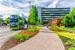 702 (Kevin R Thornton) Tags: d90 urban nikon photowalk bus city 2016 bracknell transport england unitedkingdom gb