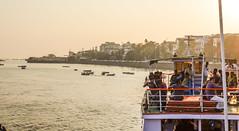 Indian Sunset (Nathan McClatchey) Tags: india mumbai bombay sunset gateway boat trip tourist travel maritime coastal sea nikon d5100 local natural light twilight tour nature birds