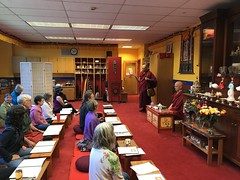 Khenpo Karma Choephel teaching on the Abhidharma