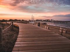 The right way (Daniele Salutari) Tags: daniele salutari photo photography landscape landscapes sunset sunlight cloud clouds sky sea beach path formentera es puyol summer travel trip