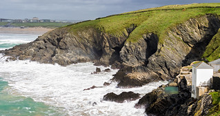 Pentire Headland Cliffs Newquay