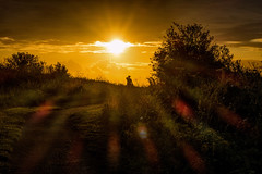 Admiring the sunrise (@bill_11) Tags: pegwellbay themes isleofthanet places england kent weather sunrise