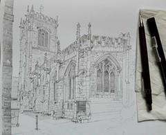 More progress on my York church study