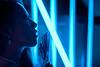 Midnight Blue (Jon Siegel) Tags: nikon d810 sigma 50mm 14 sigma50mmf14art sigma50mm woman girl beautiful cheongsam chinese asian chinatown neon light experimental modeling cinematography cinematic singaporean people evening night wongkarwai