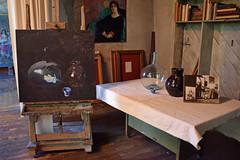 Still Life Set Up (MTSOfan) Tags: wyeth artists brandywinerivermuseum stilllife studio