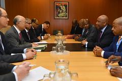 Bilateral Meeting with King Letsie III of Lesotho (01116451)