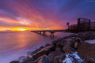 Sunrise At The Dock IV.