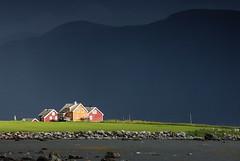 Lego? (DoctorMP) Tags: norwegia norway norge moreogromsdal altlantic ocean alesund godoya architecture houses island