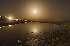 the night of 3 moons (Mazagón,Huelva) (María Blanco Photography) Tags: nikon noche night d5100 playa beach andalucia españa mazagon paisaje landscape luna moon agua water arena sand d7200 naturaleza nature pure beautiful