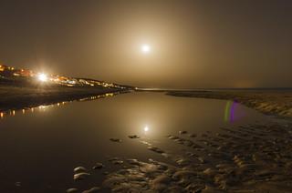 the night of 3 moons (Mazagón,Huelva)