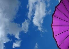 the sky over bratislava (bratislava, slovakia) (bloodybee) Tags: bratislava slovakia europe trip travel umbrella sky clouds blue white purple violet