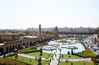 View from the Citadel, Erbil / Iraqi Kurdistan