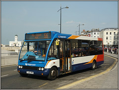 47175, Margate (Jason 87030) Tags: bus stagecoach coast seaside margate thanet kent southeast eastkent wheels red white droit house blue orange 56 broadstairs pierremonthall service timetable uk england 2017 august 47175 yj05xnk