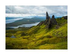 Like a forgotten land. (Mattia Querci) Tags: skye travel scotland highlands storr old man munroe