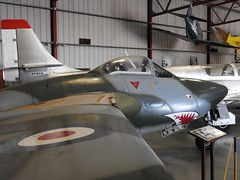 "De Havilland Vampire FB.6 10 • <a style=""font-size:0.8em;"" href=""http://www.flickr.com/photos/81723459@N04/37097543315/"" target=""_blank"">View on Flickr</a>"