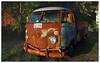 VW (daveelmore) Tags: vw volkswagen truck pickuptruck vehicle rust patina dent stitchedpanorama panorama virginia kef2586 lumixleicadgsummilux25mm114