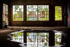 Pour Me a Drink (Thomas Hawk) Tags: america atlanta georgia prattpullmanyard pullmanyard pullmanyards usa unitedstates unitedstatesofamerica abandoned graffiti reflection fav10 fav25 fav50