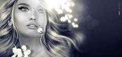 💕 Eyeѕ, мιrror oғ тнe ѕoυl... 💕 (ΛyE ღ I'м α vιѕιoɴΛЯT) Tags: digitalart digitalpainting digitalportrait digitalfantasy painting artworks portraits beauty illustrations artportrait ritratto retrato portrature dreamy vision magical emotionalart emotional monochrome ♥ღ bwwithcolour ♥♥ ♥♥miniña