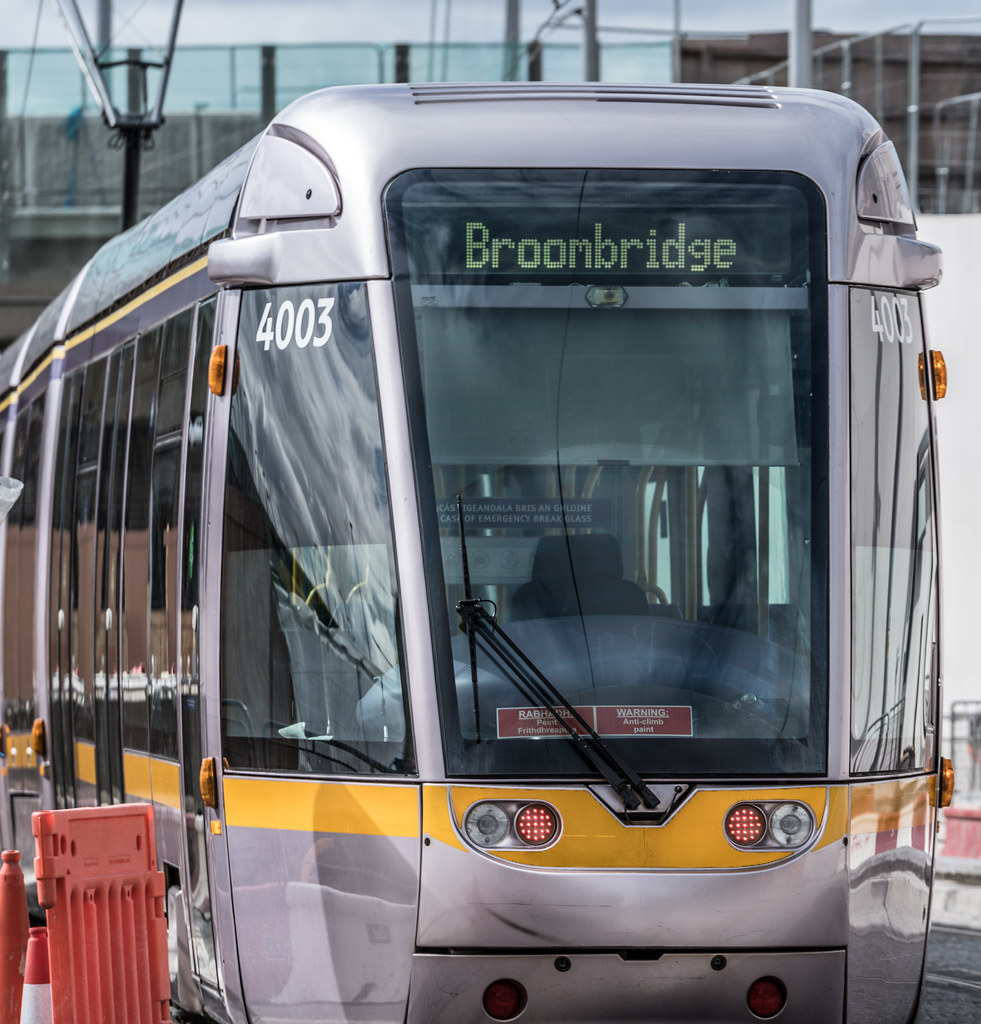 THE NEW LUAS TRAM STOP AT BROADSTONE [TESTING PHASE UNTIL EARLY DECEMBER]-1324712