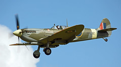 G-BRSF Jersey (sancerre99) Tags: spitfire battle of britain jersey display supermarine exeter warbird fighter raf