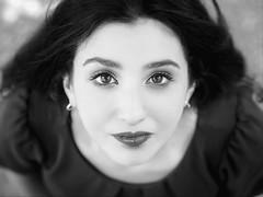 Marta Iluminacion Exterior (Antonio Goya) Tags: modelo model beauty pretty lips eyes hair sexy woman girl zenital creative portrait retrato blancoynegro bn bw olympus omd micro43 dng dzoom xataca zaragoza españa spain