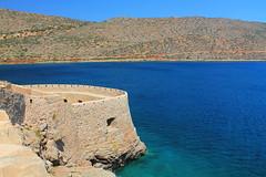 Fortezza di Spinalonga (J jeid) Tags: sea mare acque water colori colours summer island isola spinalonga isoladispinalonga history storia fortezza fortress