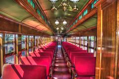 "Pullman Coach No. 72 ""Mill Creek"" (tkclip47) Tags: pullman coach no72 millcreek strasburg railroad pennsylvania car rail victorian plush hdr red"