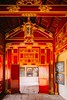 V císařských chodbách (zcesty) Tags: vietnam12 interiér dveře citadela chodba vietnam hue dosvěta tphuế thừathiênhuế vn