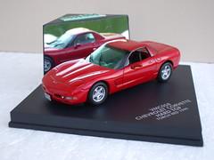Vitesse 1999 Chevrolet Corvette Torch Red Diecast Model (beetle2001cybergreen) Tags: vitesse 1999 chevrolet corvette torch red diecast model