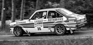 #35 Samuel Thiele / Klaus Thiele, Ford Escort RS1800 Gr. 4 - 1981