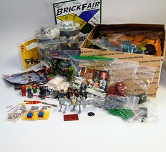 BrickFair Virginia 2017 Loot & Recap (NS LEGO Designs) Tags: nslegodesigns lego moc creation build brickfair virginia 2017 bfva chantilly convention con highlights recap loot