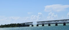 Gap in the Old Bridge - Travelling through the Keys, going North (Haydn Blackey) Tags: floridaholiday2017 thekeys