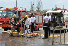 CMI RECEIVES EMERGENCY VEHICLES (JIS)