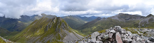 Pano Ring of Steall - The Guys