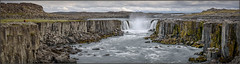 Selfoss (Maclobster) Tags: selfoss iceland waterfall panorama pano