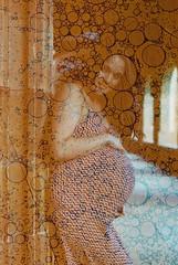 Maternity Shoot (Texture) (goodfella2459) Tags: nikon f4 af nikkor 50mm f14d lens revolog texture 200 35mm c41 specialty film analog colour sydney university maternity shoot pregnancy pregnant bumpmodels portrait manilovefilm