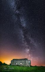 Star Wars (Calum Gladstone) Tags: northumberland dunstanburgh pill box nightscape milkyway longexposure panoramic canon6d