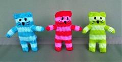 three cats (jujushka) Tags: crochet cat crocheted