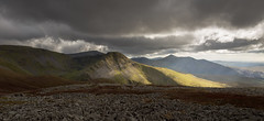 Yr Elen illuminated (Nick Livesey Mountain Images) Tags: