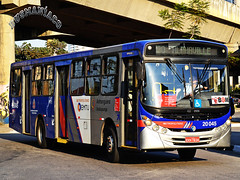 20.045 Auto Viação Urubupungá (busManíaCo) Tags: busmaníaco ônibus bus nikond3100 nikon d3100 osasco autoviaçãourubupungá caio apache vip ii volkswagen 17230 eod