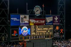 New York Mets vs San Francisco Giants | SBC Park (M.J. Scanlon) Tags: newyorkmets sanfranciscogiants sbcpark baseball mlb majorleaguebaseball scanlon photo photography photographer photograph picture capture travel trip vacation fans game spectator