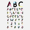 alphabetic fonts and numbers (arezoobarzegar96) Tags: isolated decoration font alphabet shadow vector symbol contemporary letter graphic digital typography fashion abc type shape abstract trend modern creative illustration icon light dimensional cool web typographic design uppercase color trendy clip text set magazine stylish language art artistic style minus elegance elegant