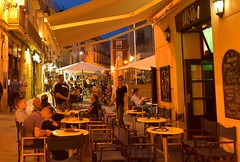 Alicante - Spain at night! (bobglennan) Tags: spain alicante nightlife lighting people tapas nikond750 nikon nightphotography streetlife