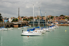 Folkestone Harbour and yachts lined up (philbarnes4) Tags: folkestone harbour folkestoneharbour dslr water sea kent england philbarnes nikond80