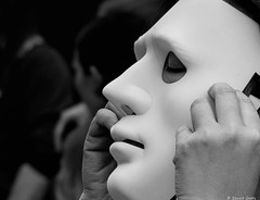 The Mask (BenoitGEETS-Photography) Tags: pride bruxelles brussels d610 tamron nikon nikonpassion 2470 bn bw noiretblanc nb mask masque geets benoitgeets misterblue