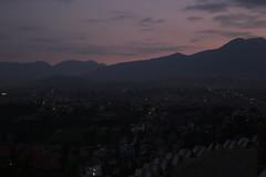 Smog and sunset (pavel B.) Tags: kathmandu nepal sunset
