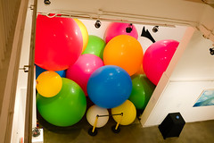 front view (Kai-Ming :-))) Tags: art installation balloon kaiming kmwhk hongkong artexhibition onceinabluemoon jccac 72inchballoon rubberballoon black jockeyclubcreativeartscentre colorful