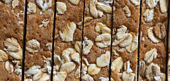 Macro Mondays - Bread (cuppyuppycake) Tags: macro mondays bread hmm wheat brown whole