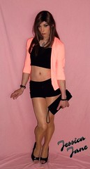 Hot Peach (jessicajane9) Tags: tg crossdress lgbt feminised crossdressing transvestite tv xdress tgurl m2f transgender crossdresser cd tgirl trap