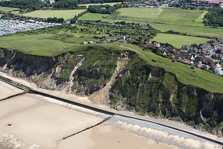 Beeston Bump in Sheringham - UK aerial
